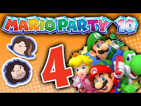 Mario Party 10: Spike Balls - PART 4 - Game Grumps VS