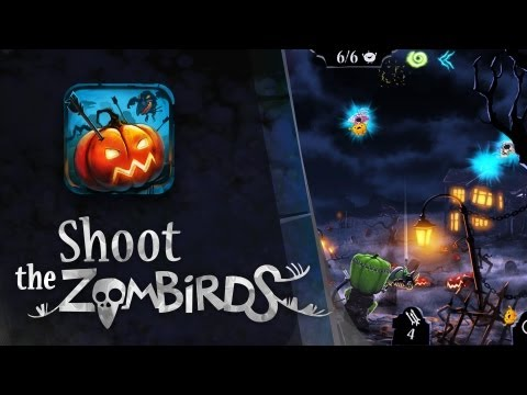 Shoot The Zombirds by iDreams -World Premiere Trailer [Android, iOS]