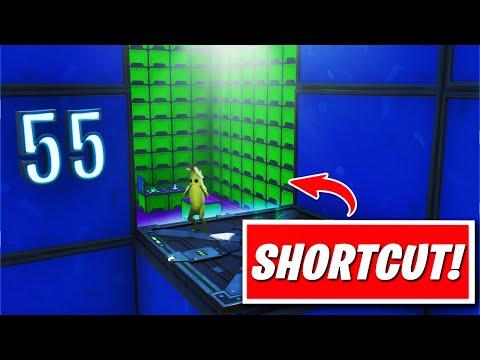 Jduth 100 Level Default Deathrun Secret Shortcuts Fortnite Creative Guide Youtube