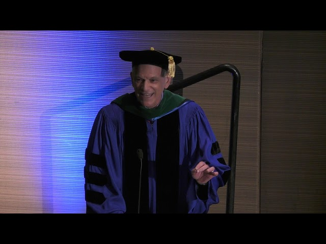 Dr. Eric J. Nestler Congratulates 2019 Masters Graduates