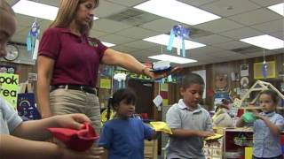 Bean Bag Walk: Developing Receptive Language