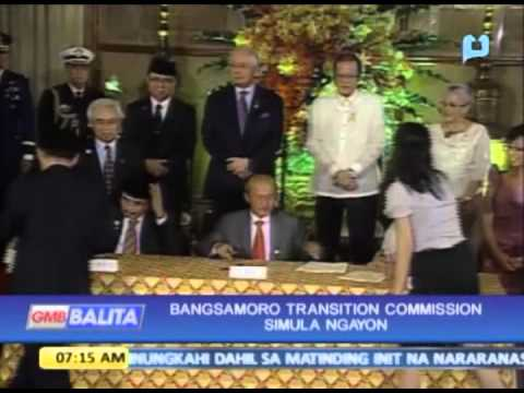 Bangsamoro Transition Commission simula ngayon