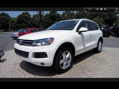 2011 Volkswagen Touareg Lux TDI Start Up, Engine, and In Depth Tour