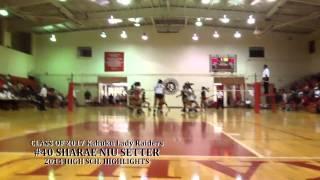 SHARAE NIU C/O 2017 Setter 2013 Varsity Volleyball Highlights- Freshman Year