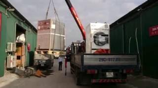 Cẩu máy giặt công nghiệp Image - Thái Lan