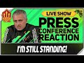 Mourinho Press Conference Reaction! Manchester United vs Arsenal