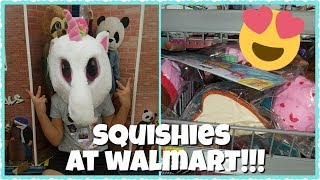 NEW SQUISHIES AT WALMART