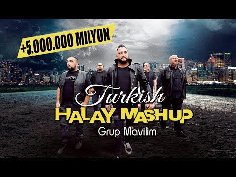 Turkish HALAY MASHUP 2021 ( Grup Mavilim Official Video ) - Prod. By YCD \u0026 Dost Video indir