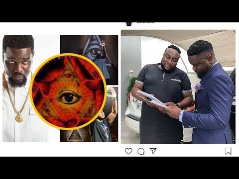 Sarkodie's Manager Break Illuminati Silence - Watch