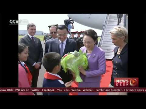 Chinese premier arrives in Brussels for China-EU leaders' meeting   #Politics, #News, #Worldnews