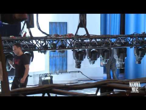 Mamma Mia! El Musical en Barcelona - El montaje de la escenografía