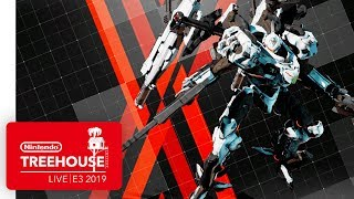 DAEMON X MACHINA Gameplay Pt. 1 - Nintendo Treehouse: Live | E3 2019