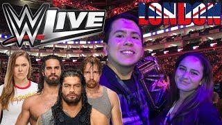 WWE LONDON LIVE VLOG 29/08/18 RONDA ROUSEY´S UK DEBUT AND SHIELD REUNION