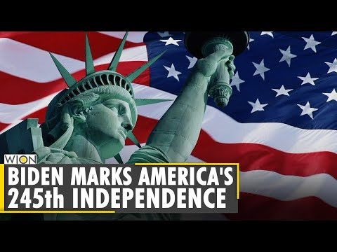 US celebrates 245th Independence day with fireworks and parades   Joe Biden   World News   English