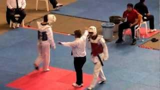 63kg Suleyman Subasi - Omer Faruk Cinici  (2012 Turkish Taekwondo Championships Under -21)
