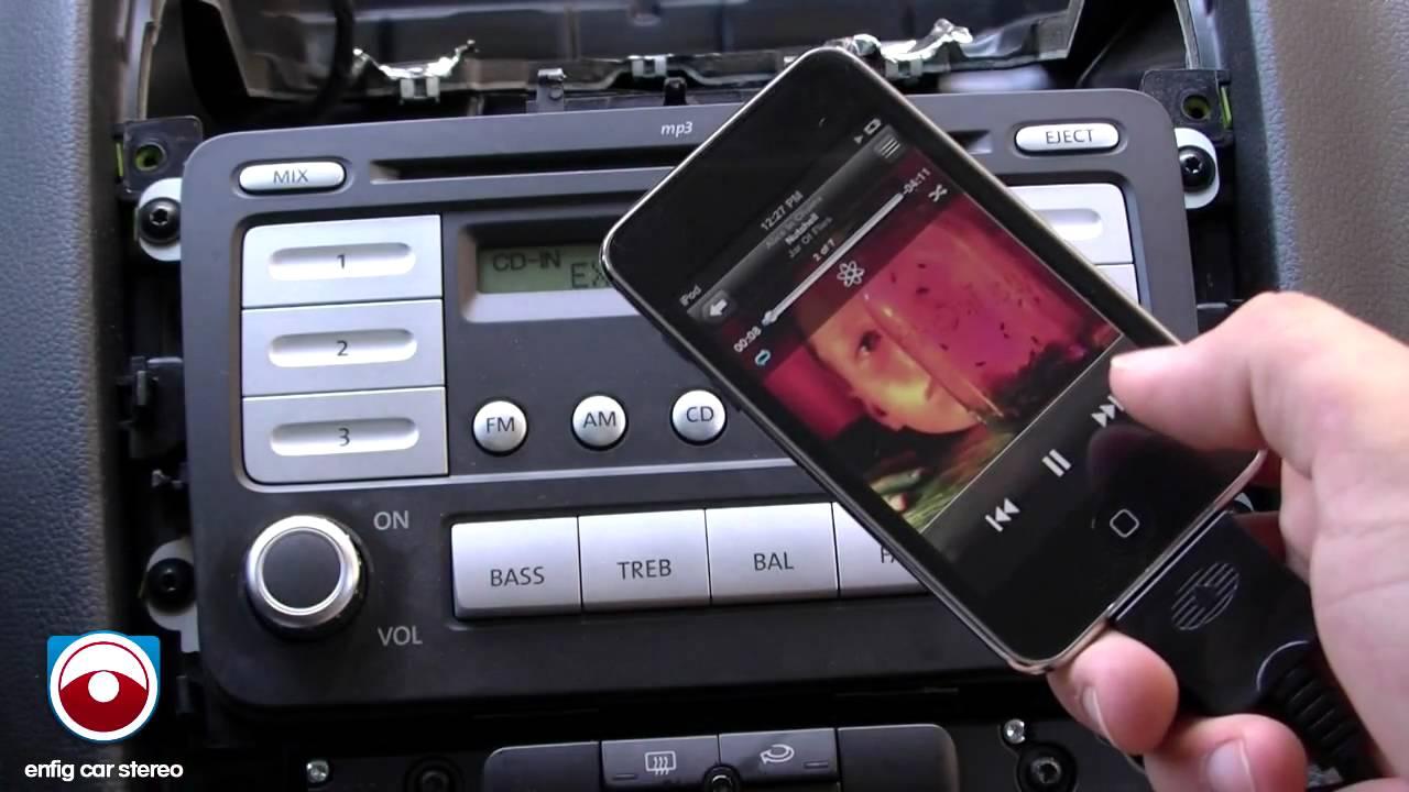 iPod iPhone AUX USB Guide Volkswagen GTI 2006-2010 – Jetta