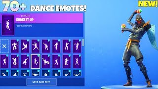 NEW! CLOAKED STAR Skin with 70+ Dance Emotes! Fortnite Battle Royale