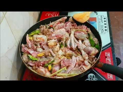 ទាកាប៉ាឆាគល់ស្លឹកក្រី/Duck Ka Pa fried/Asian Food/cambodian food