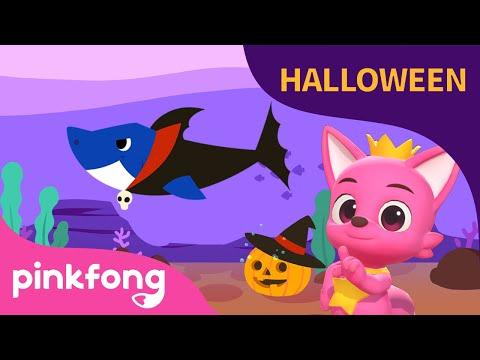 Tiburones de Halloween   Canciones de Halloween   Bailemos con Pinkfong   Pinkfong
