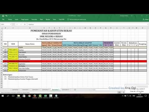 Entri Nilai Rapor dan US-USBN di Dapodik dengan Cepat