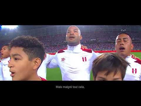 Le Perou envoi un message à la France pour la Coupe du Monde