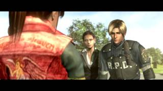 Resident Evil 6 PC - Claire and Leon (RE2) Full faciale expressions