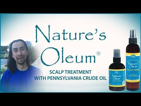 Nature's Oleum Scalp Treatment with Pennsylvania Crude Oil