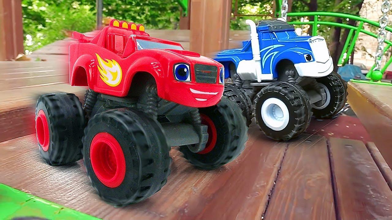 Машинки Вспыш, Крушила и чудо-машинки — Игры на детской ...