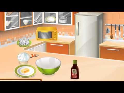 Банановый торт: кухня Сары - игра для девочек