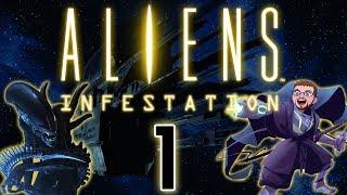 [ Aliens: Infestation ] Aliens VS Metroidvania - Part 1