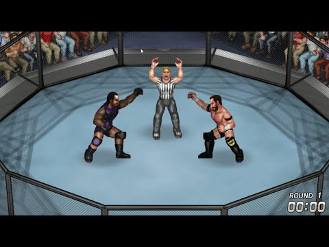 MVP vs Bobby Fish | First Round Match | Brawl For All 2020 | Fire Pro Wrestling World |