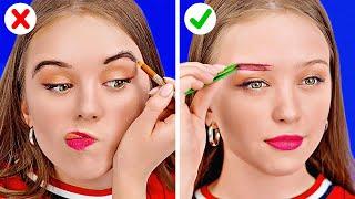 FIX YOUR MAKEUP || Money-Saving Makeup Hacks For Girls