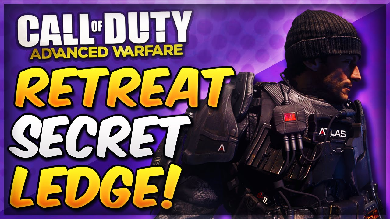 Advanced Warfare Glitches  Retreat Jump SpotSecret Ledge