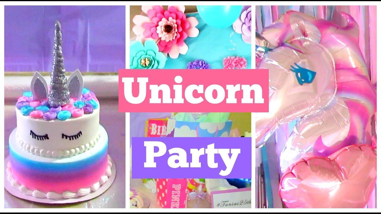 My Unicorn Birthday