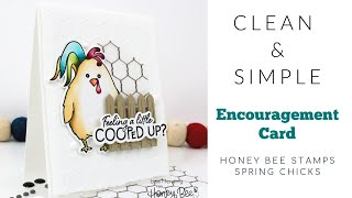 Clean and Simple Encouragement Card Tutorial