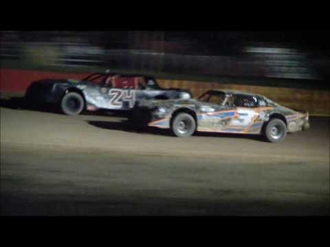 Wild Bill's Raceway 5-28-16,, SS main winner John Grandjean # X