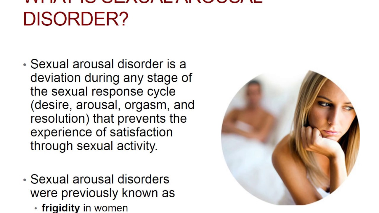 arousal sexual syndrome