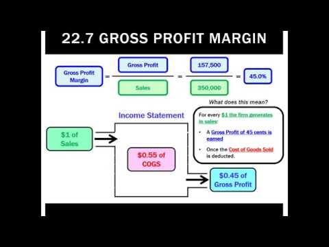 22.7 Gross Profit Margin