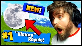 *SECRET* GET TO THE MOON in Fortnite Battle Royale!