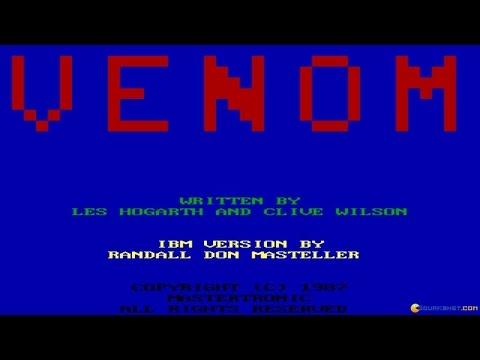 Venom Gameplay (PC Game, 1987)