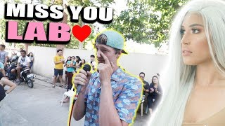 SINGING LOVE SONG To My FILIPINA Girlfriend.. (Meet&Greet, Bohol)