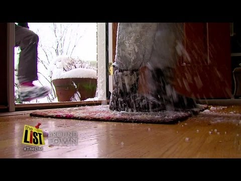Protect your floors from snow and salt