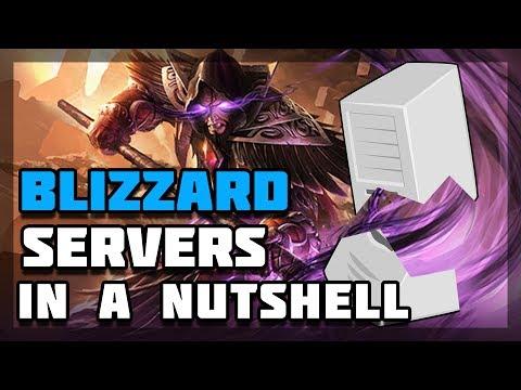 Hearthstone - Blizzard Server In A Nutshell