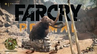 Far Cry Primal (The Great Beast) Take Down A Mighty Mammoth HD thumbnail