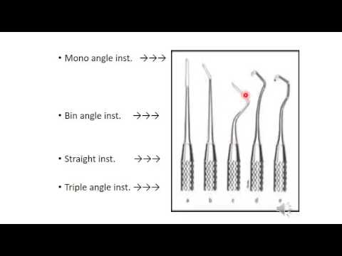 Instruments in Operative Dentistry (Part 1)