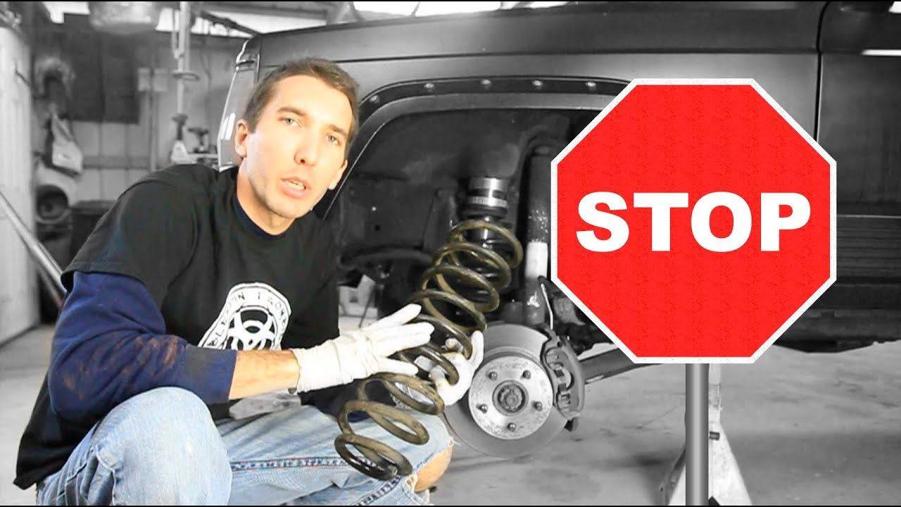 How To Replace Your Coil Springs Youtube