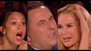 Japanese Magician TanBA Act Is Quite YUMMY, Well Maybe Not For The Judges | Week 6 | BGT 2017