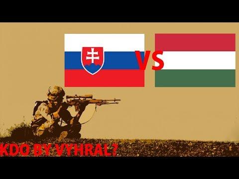 Slovensko VS Maďarsko - Kdo by vyhrál ? #4