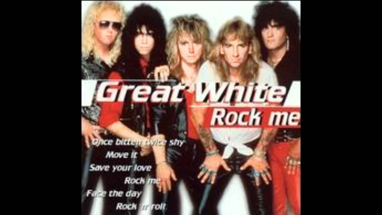 Rock Me - Great White (HQ version)