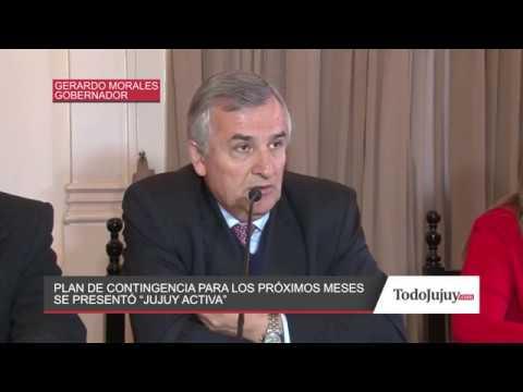 El Gobierno presentó el Plan de Contingencia Jujuy Asiste y Reactiva